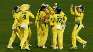 India vs Australia Women 2nd ODI, statistical highlights