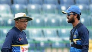 Sri Lanka head coach Chandika Hathurusingha asked to return home from South Africa's mid tour