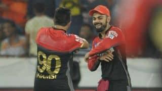 Karun Nair out for 11 in DD vs RCB IPL 2016 Match 56 at Raipur