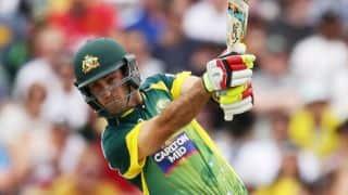 Australia vs England, tri-series final: Glenn Maxwell, Mitchell Marsh put up 100-run stand