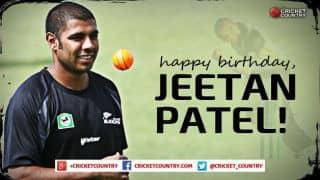 Happy Birthday, Jeetan Patel