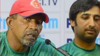 Afghan coach Phil Simmons says hewas not aware of captaincy change