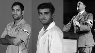MS Dhoni vs Sourav Ganguly: Why Adolf Hitler is furious!