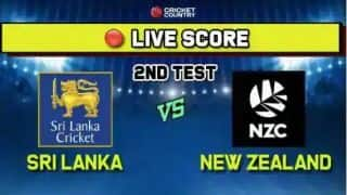 LIVE: Sri Lanka vs New Zealand 2nd Test, Day 4: Watling, de Grandhomme fifties take lead past 100