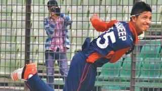 ICC World T20 Qualifiers: Nepal bowl out China for 26, chase down target in 1.5 overs