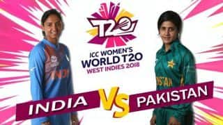 ICC Women's World T20 2018, India vs Pakistan, LIVE cricket score: Mithali Raj hits half-century as India beat Pakistan by seven wickets