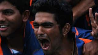 Vijay Zol-led India hold slight edge