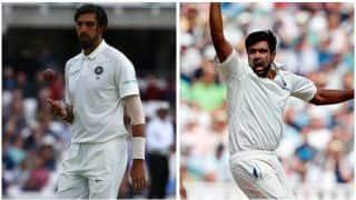 Ishant Sharma, Ravichandran Ashwin to undergo fitness test