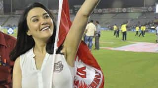 Preity Zinta rubbishes lashing out at KXIP coach Sanjay Bangar after IPL 9 match defeat to Royal Challengers Bangalore
