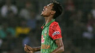 Mustafizur Rahman named in the Bangladesh squad for 1st Test against South Africa