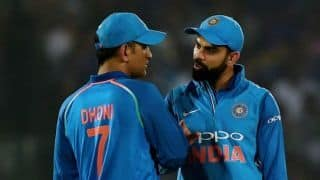 MS Dhoni's form with the bat good for Indian cricket, says Virat Kohli