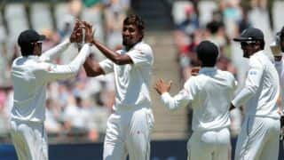 SA vs SL, 2nd Test: Hosts lose 4, but Elgar's fifty takes lead past 400