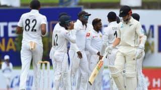 1st Test: Dananjaya's late strikes rock New Zealand after positive start