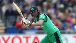 Ireland edge past Scotland, win by 25 runs
