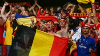 FIFA World Cup 2014: Belgium fan dies after fall during victory jubilation