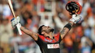 Virat Kohli becomes 1st player to score 3 IPL tons in single edition