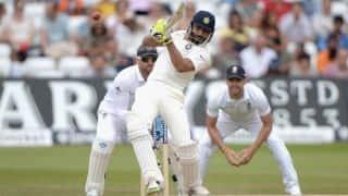 India vs England 2014 1st Test at Trent Bridge: Ravindra Jadeja dismissed for 31; score 250/7