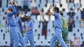 India vs South Africa, 2nd ODI: Yuzvendra Chahal's maiden 5-for, MS Dhoni's 399, Virushka banner and other highlights