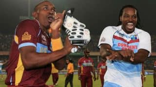 Videos: In India for TNPL, 'Universe Boss' Chris Gayle, 'DJ' Dwayne Bravo accorded grand welcome in Chennai