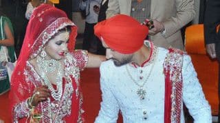 Harbhajan Singh in trouble over serving tobacco during his wedding