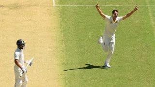 1st Test: Pat Cummins gets Virat Kohli for second time in four balls
