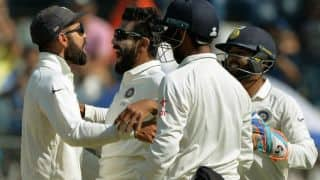 Innings report: Ashwin, Jadeja skittle visitors for 400 after Buttler's resistance