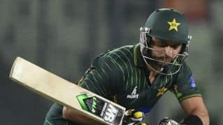 Bangladesh vs Pakistan 2015: Shahid Afridi criticises umpires following T20I defeat
