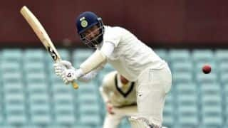 VIDEO: Cheteshwar Pujara responds to Manish Pandey's sledging with six in Ranji Semi Final