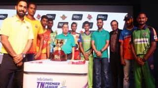 KK 128 all out in 17.1 overs   TNPL 2016 Live Updates CSG vs KK   CSG win by 67 runs