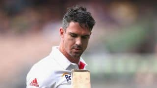Kevin Pietersen's wife slams Dominic Cork as 'liar' on Twitter