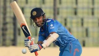 India vs Afghanistan Asia Cup 2014 stats highlights
