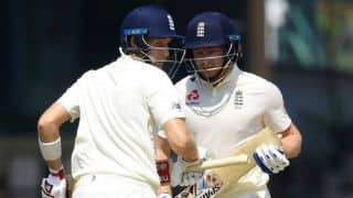 2nd Test, Lunch Report: Bairstow, Root battle Sri Lanka spin onslaught