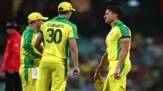 Australia vs India: Marcus Stoinis may miss 2nd ODI; Cameron Green up for international debut