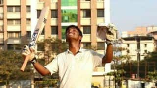 Pranav Dhanawade smashes 236 in an inter-college match