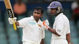 Kumar Sangakkara's final match is Mahela Jayawardena's first ever live Test match as spectator