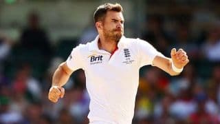 James Anderson back in swing with five-for in County Championship