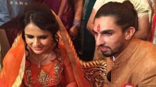 Photos: India's Ishant Sharma gets engaged to Pratima Singh