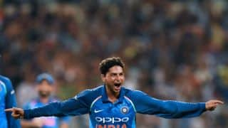 India vs Australia: Bowl the way you want to, told MS Dhoni to Kuldeep Yadav before Hat-trick ball