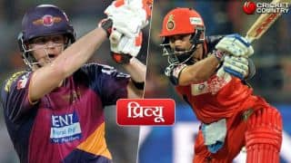 Rising Pune Supergiants(RPS) vs Royal Challengers Bangalore(RCB), IPL 2017 Match 34, preview and likely XI: RCB in a do-or-die situation'