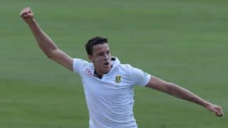 Windies lose two crucial wickets against SA at tea