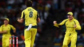WI lose wickets in succession against AUS