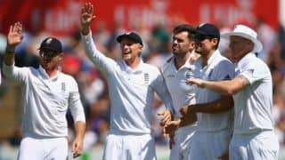 ENG 317/5 │Live Cricket Score, South Africa vs England 2015-16, 1st Test, Day 1 at Cape Town: Stokes, Bairstow march on as England go into stumps on Day 1