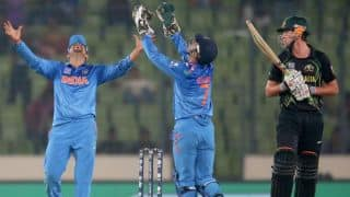 India vs Australia, ICC World T20 2014 Super 10s Group 2