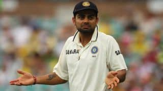 Virat Kohli accused by Australian Newspaper for throwing bottle at Australian officials during 2nd Test