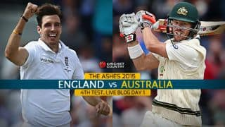 Live Cricket Score England vs Australia, The Ashes 2015, 4th Test Day 1 STUMPS: ENG 274/4, Joe Root's hundred extends lead to 214