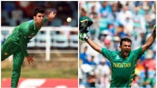 Shadab Khan beats Fakhar Zaman in Pad up Challenge: Watch Video