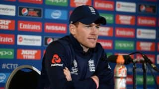 ICC CT 2017: Morgan Pre-Match Press Conference, ENG vs NZ, Match 6