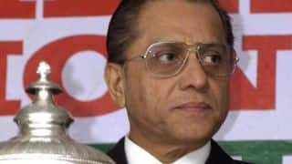 Jagmohan Dalmiya says Eden Gardens should be one of the venues for ODIs against West Indies