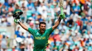 Pakistan skipper Sarfraz Ahmed hints Fakhar Zaman will soon deput in Test Cricket