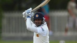 Kumar Sangakkara departs for 221, Sri Lanka extend lead past 50 against Pakistan in 1st Test